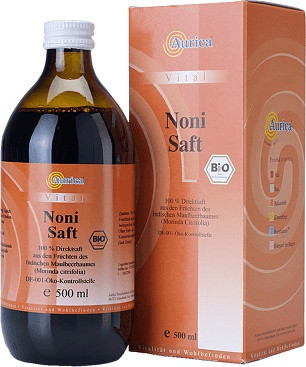 Aurica Noni-Fruchtsaft 100% Bio (0,5 l)