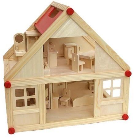 VDP Puppenhaus+Puppenmöbel (3670)