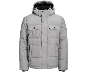 metà fuori ampia scelta di colori e disegni Nuovi Prodotti Jack & Jones Hooded Puffer Jacket light grey melange a € 58,58 ...