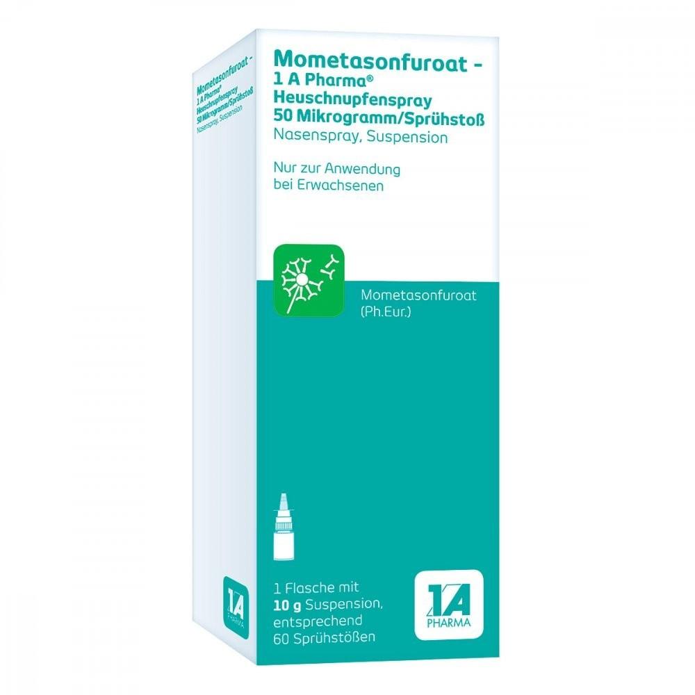 Mometasonfuroat-1A Pharma  Heuschnupfenspray Nasenspray 50µg / Sprühstoß (10g)