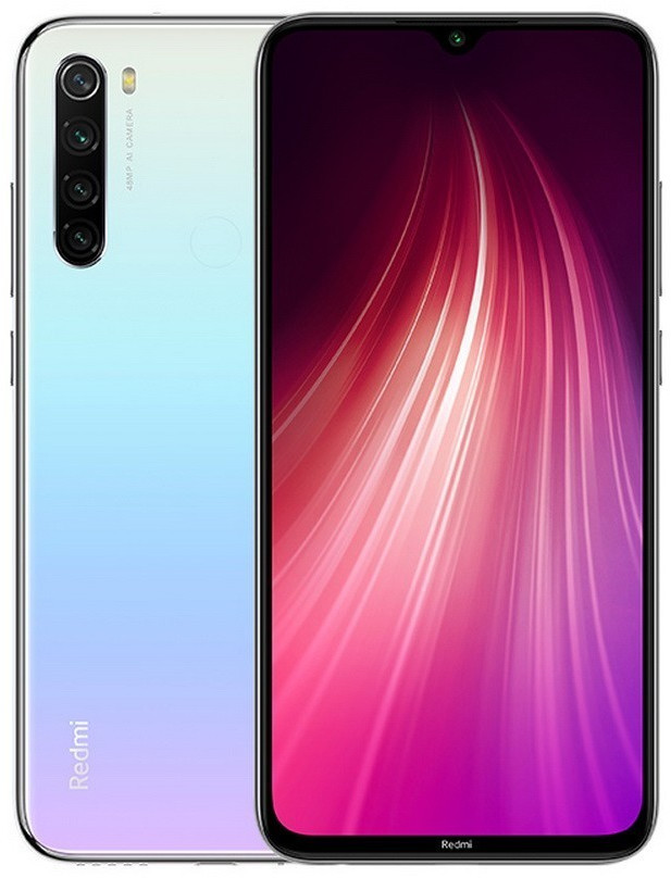 #Xiaomi Redmi Note 8 64GB 4GB White#