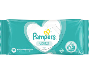 Pampers Sensitive Feuchttücher (52 Stk.)