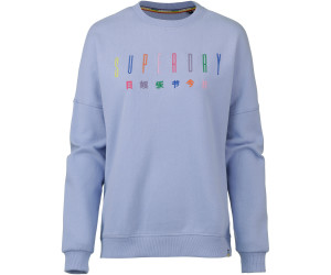Superdry Carly Carnival Embroidered Crew Felpa Donna
