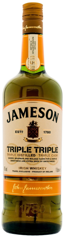 Jameson Triple Triple 1l 40%