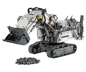 lego technic liebherr bagger r 9800 42100