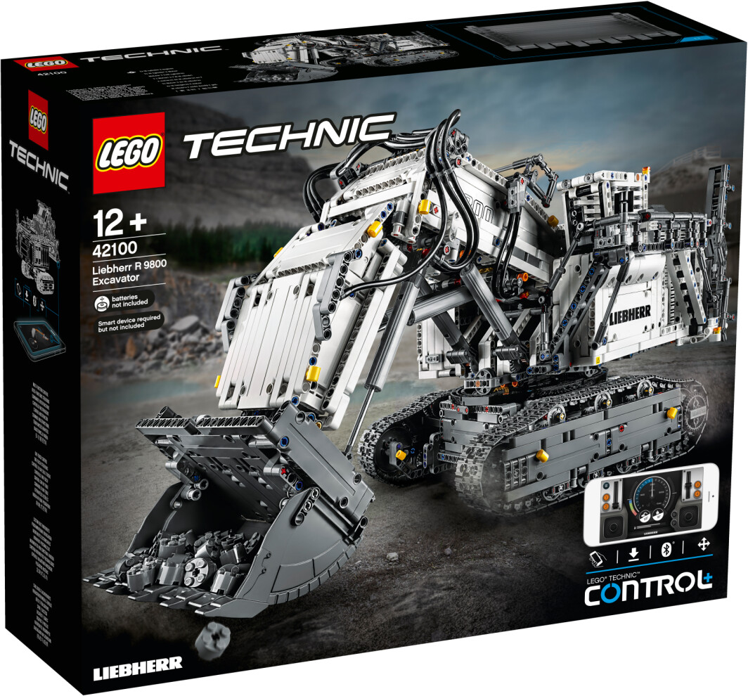 LEGO Technic - La pelleteuse Liebherr R 9800 (42100)