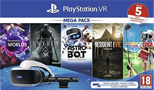 Image of Sony PlayStation VR V2 + PlayStation Camera + Mega Pack 2