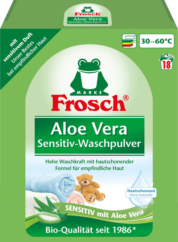 Frosch Sensitiv-Waschpulver Aloe Vera (18 WL)