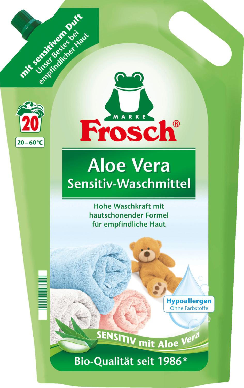 Frosch sensitiv Waschmittel Aloe Vera (20 WL)
