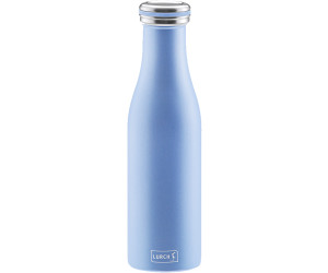 Lurch Isolierflasche Edelstahl 0,5l pearl blue