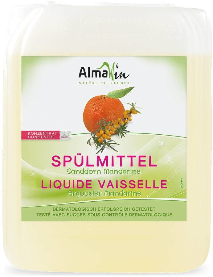 AlmaWin Spülmittel Sanddorn Mandarine (5 L)