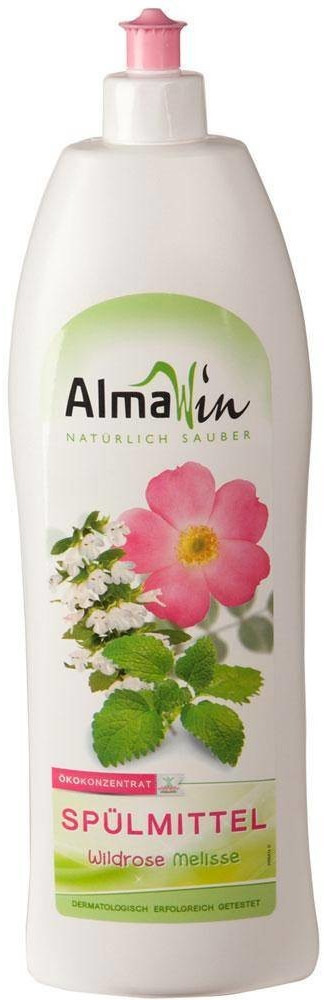 AlmaWin Spülmittel Wildrose Melisse (500 ml)