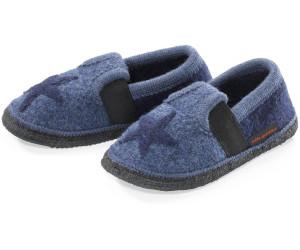 hessnatur Kinder Hausschuh (46801) jeansblau