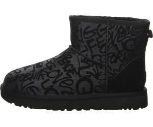 Classic meilleur Sparkle Mini black Boots UGG au Graffiti LSpUVzGqM