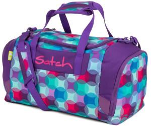 satch Sportbag Sporttasche Tasche Bloomy Breeze Violett Rosa Neu