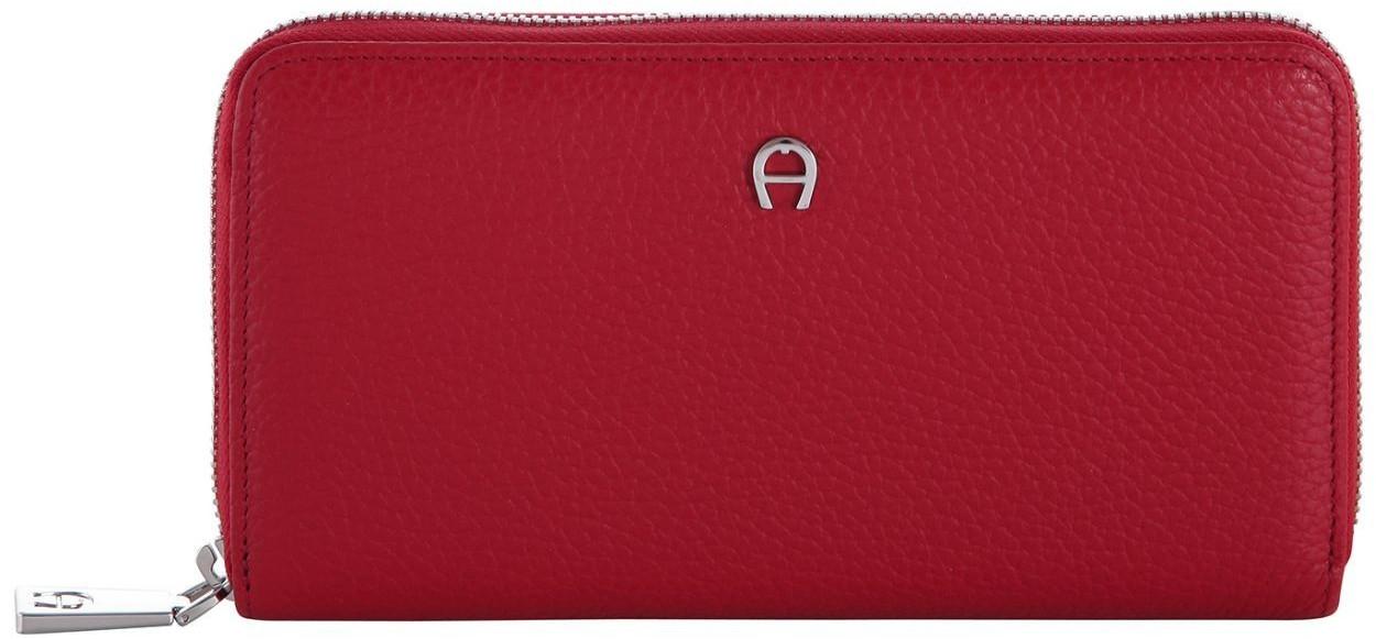 Aigner Zip Around Wallet (156584) red
