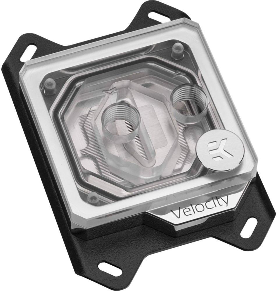 *EK Water Blocks EK-Velocity RGB – AMD Nickel + Plexi*