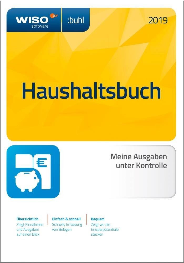 Buhl WISO Haushaltsbuch 2020 (Box) ab 11,90 ...