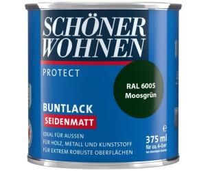 Schoner Wohnen Profidur Buntlack 0 375 L Seidenmatt Moosgrun Ab 11 95 Preisvergleich Bei Idealo At