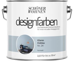 Schoner Wohnen Designfarbe 2 5 L Klares Eisblau Feinmatt Ab 31 04 Preisvergleich Bei Idealo De
