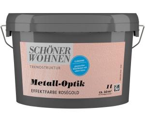 Schoner Wohnen Trendstruktur Metall Optik Rosegold 1 L Glanzend Ab 22 41 Preisvergleich Bei Idealo De