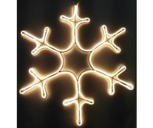 Kaltwei/ß dekorative Leuchte f/ür Drinnen und Drau/ßen SALCAR Schneeflocke Neonlicht 40 cm Schnee LED Schild Dekorative Lichtschlauch f/ür u.a Weihnachten Leuchtreklame