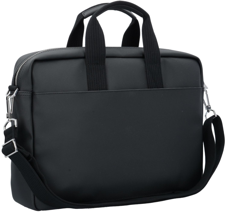 Image of Lacoste Men's Classic Petit Piqué Computer Bag black