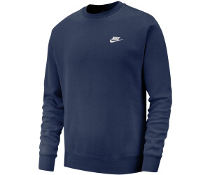 Nike Sportswear Club Sweatshirt midnight navy white
