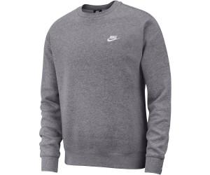 Nike Sportswear Club Sweatshirt grey (BV2662 071) ab 34,90