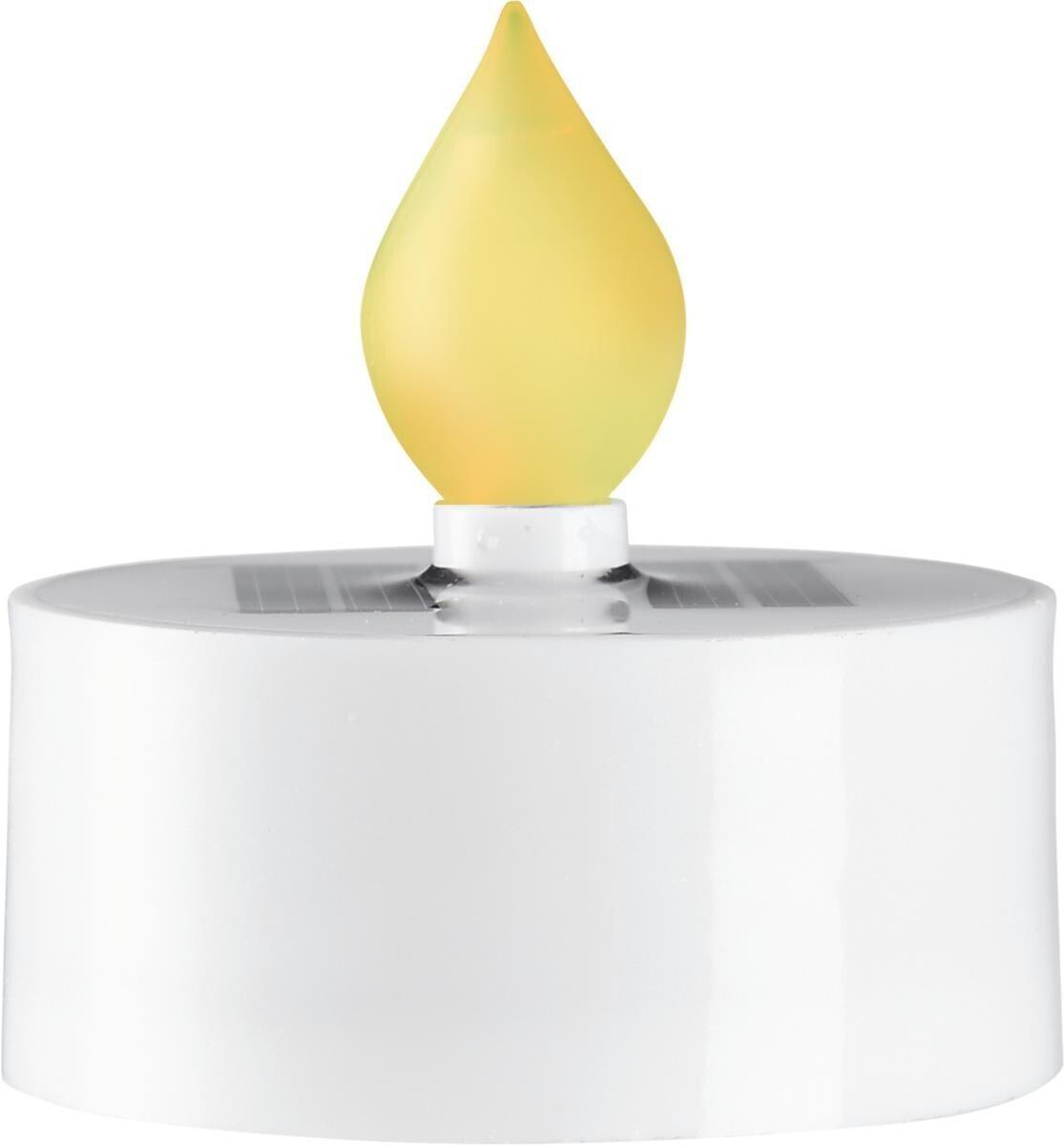 Star Trading Solar-LED-Teelicht 3er-Set weiß