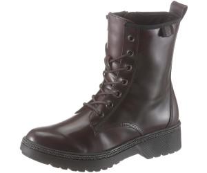 Tamaris 1 25224 23 Schnürstiefelette Damen Schuhe Combat Boots Stiefeletten , Schuhgröße:40 EU, Farbe:Schwarz
