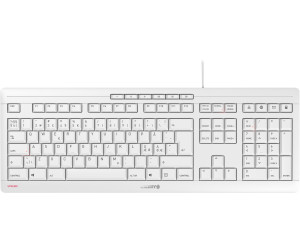 CHERRY STREAM Keyboard grey (nordic)