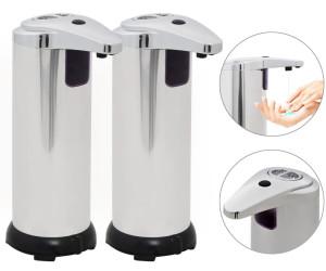 2 X Automatik Edelstahl Seifenspender Infrarot Sensor Seifenspender aus Berlin