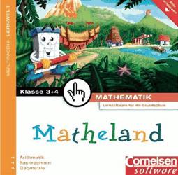 Matheland 2: 3./4. Klasse Deutsche Version