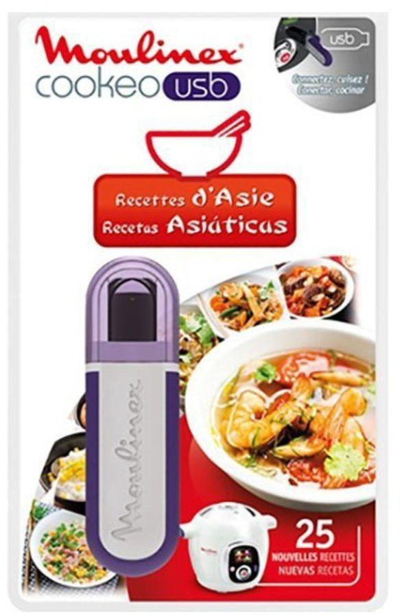 Image of Moulinex Clé USB Recettes d'Asie
