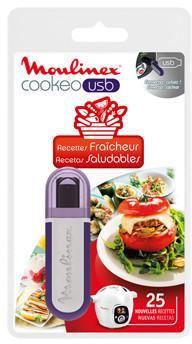 Image of Moulinex Clé USB Recettes Fraîcheur