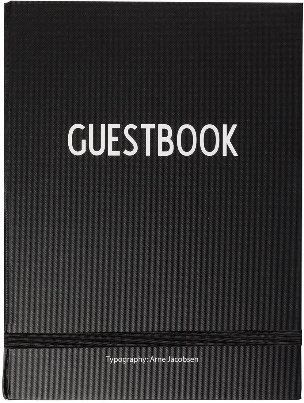 Image of Design Letters Guestbook 18,5x25/200