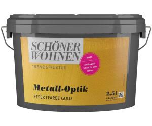 Schoner Wohnen Trendstruktur Metall Optik 2 5 L Ab 42 10 Preisvergleich Bei Idealo De