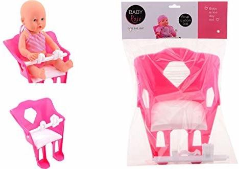 Johntoy Fahrradsitz Baby Rose