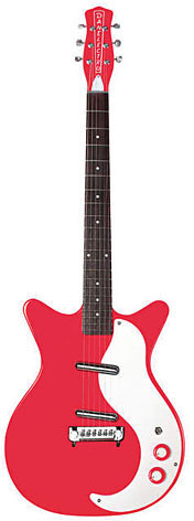 Image of Danelectro Dano 59M NOS+ RD Red