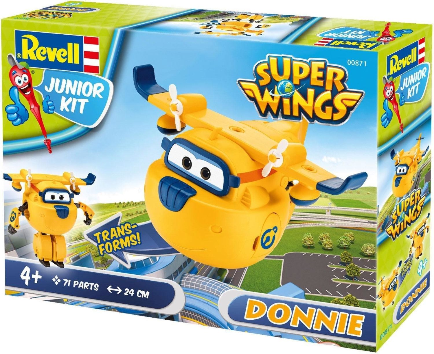 revell junior kit super wings donnie 00871 ab € 1779