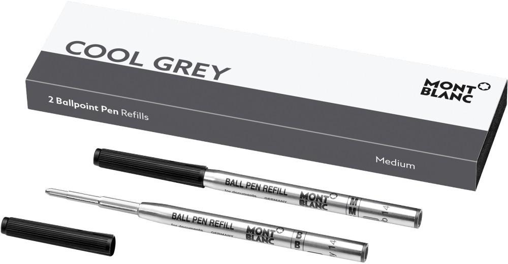 Montblanc Kugelschreibermine Cool Grey M 2 Stk. (124519)