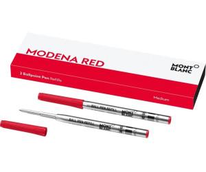 Montblanc Kugelschreibermine Modena Red 2 Stk. (124516)