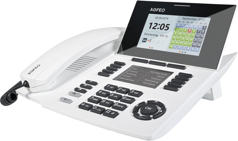 Agfeo ST 56 SENSORfon weiß