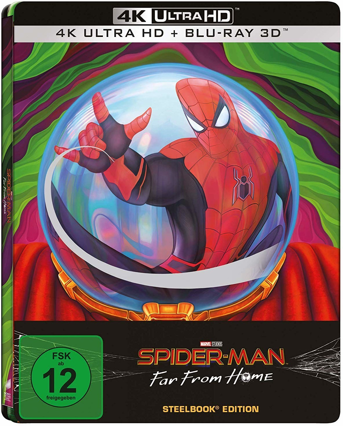 #Spider-Man – Far From Home (4K Ultra HD) (3D) (Steelbook) [Blu-ray]#