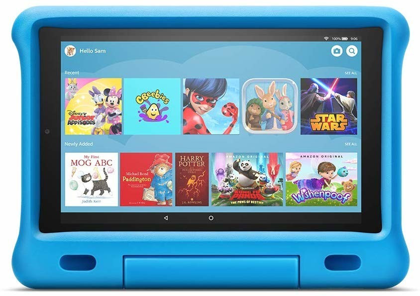 Image of Amazon Fire HD 10 Kids Edition Blue (2019)