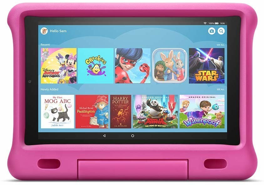 Image of Amazon Fire HD 10 Kids Edition Pink (2019)