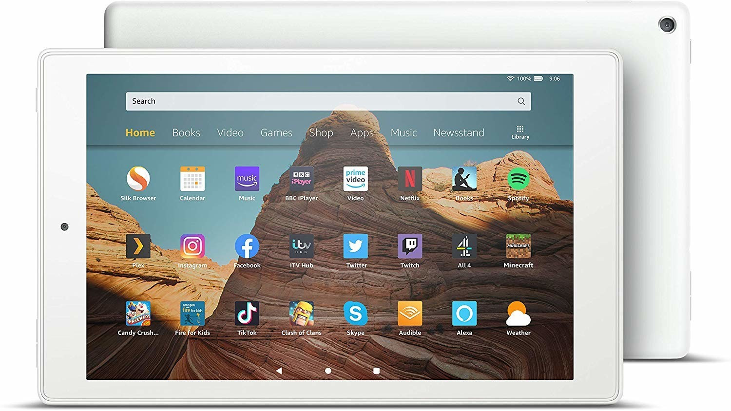 Image of Amazon Fire HD 10 32GB White (2019)