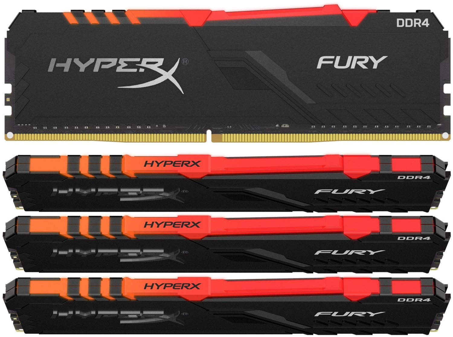 #HyperX Fury RGB 32GB Kit DDR4-3200 CL16 (HX434C16FB3AK4/32)#