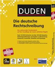 Duden Die deutsche Rechtschreibung 24. Auflage ...